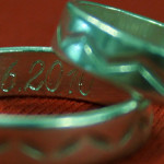 gravierte Ringe